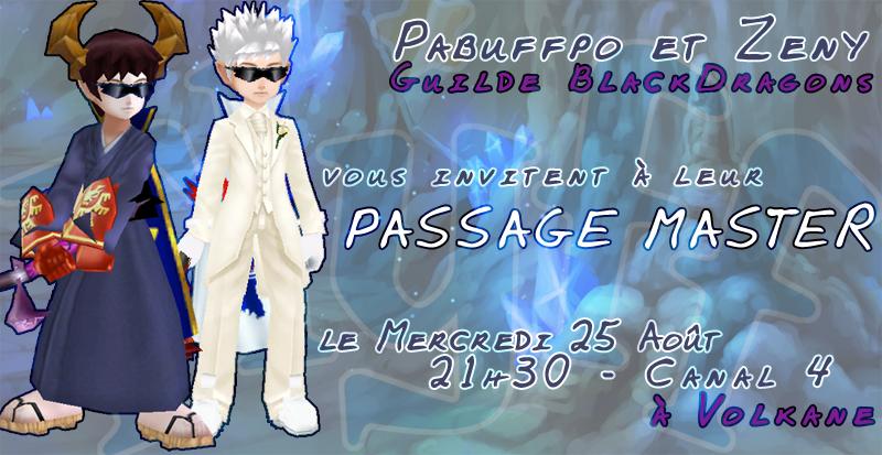 Passage Master Zeny et Pabuffpo Pabzeny